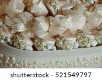 wedding favors | Shutterstock . vector #521549797