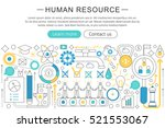 vector modern line flat design... | Shutterstock .eps vector #521553067