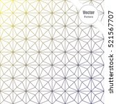 geometric vector pattern ... | Shutterstock .eps vector #521567707