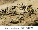 Wave Carved Sandstone At The...