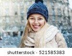 outdoor close up portrait of... | Shutterstock . vector #521585383