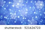 christmas background with white ... | Shutterstock . vector #521626723