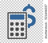 business calculator icon.... | Shutterstock .eps vector #521646037