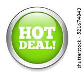 hot deal icon | Shutterstock .eps vector #521674843