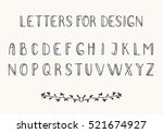 black thin font isolated on... | Shutterstock .eps vector #521674927
