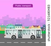 Urban Public Transport. White...