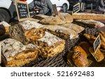 artisan breads for sale at open ...   Shutterstock . vector #521692483