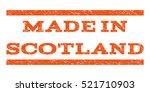 made in scotland watermark... | Shutterstock .eps vector #521710903