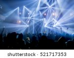 effects blur concert  disco dj... | Shutterstock . vector #521717353