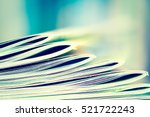 close up edge of colorful...   Shutterstock . vector #521722243
