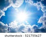 the divine sky | Shutterstock . vector #521755627