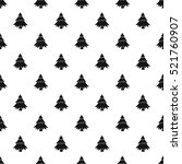 Fir Tree Pattern. Simple...