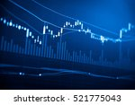 data analyzing in trading... | Shutterstock . vector #521775043