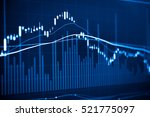 data analyzing in trading... | Shutterstock . vector #521775097