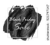 black friday sale on abstract... | Shutterstock .eps vector #521797147