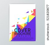 abstract cover background... | Shutterstock .eps vector #521820877