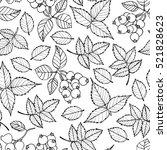 Vector Doodle Floral Pattern....