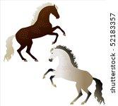 raster dappled rose gray and... | Shutterstock . vector #52183357