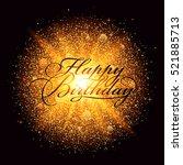 Happy Birthday Inscription Wit...