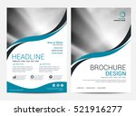 brochure layout design template ... | Shutterstock .eps vector #521916277