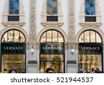 Small photo of Milano Italy 24 November 2016: Versace boutique in Milan. Versace is an Italian fashion company and trade name founded by Gianni Versace in 1978.