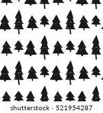 seamless christmas background...   Shutterstock .eps vector #521954287