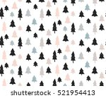 hand drawn vector abstract... | Shutterstock .eps vector #521954413