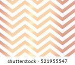 Trendy rose gold chevron patterned on white background. Rose gold abstract wallpaper. Elegant luxury art deco pattern.  | Shutterstock vector #521955547