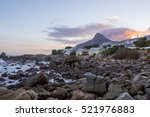 lions head cape town during...   Shutterstock . vector #521976883
