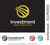 abstract circle logo template... | Shutterstock .eps vector #521985853