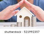 business finance and money... | Shutterstock . vector #521992357