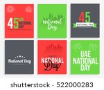 united arab emirates national... | Shutterstock .eps vector #522000283