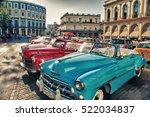 havana  cuba  oct 21  2016  old ... | Shutterstock . vector #522034837