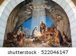 bethlehem israel 26 10 16 ... | Shutterstock . vector #522046147