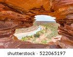 kalbarri  western australia....   Shutterstock . vector #522065197