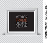 picture frame. vector template... | Shutterstock .eps vector #522068107