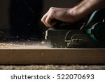 carpentry workshop routine. | Shutterstock . vector #522070693