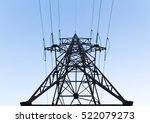 high voltage post or high...   Shutterstock . vector #522079273
