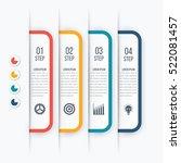 modern infographics options... | Shutterstock .eps vector #522081457