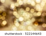 blurred lights  festive design  ... | Shutterstock . vector #522144643