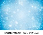 blue sparkle abstract... | Shutterstock . vector #522145063
