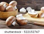 Portobello Champignon On A...