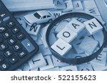 car leasing  car loans concept | Shutterstock . vector #522155623