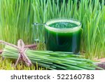 Wheatgrass Juice From...