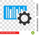 bar code settings eps vector... | Shutterstock .eps vector #522168883