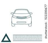 car line icon   Shutterstock .eps vector #522200677