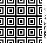 vector seamless pattern.... | Shutterstock .eps vector #522210817