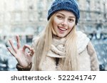 everything is ok  outdoor close ... | Shutterstock . vector #522241747