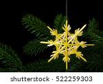 Yellow Straw Star Christmas...