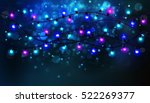 colourful glowing christmas... | Shutterstock .eps vector #522269377
